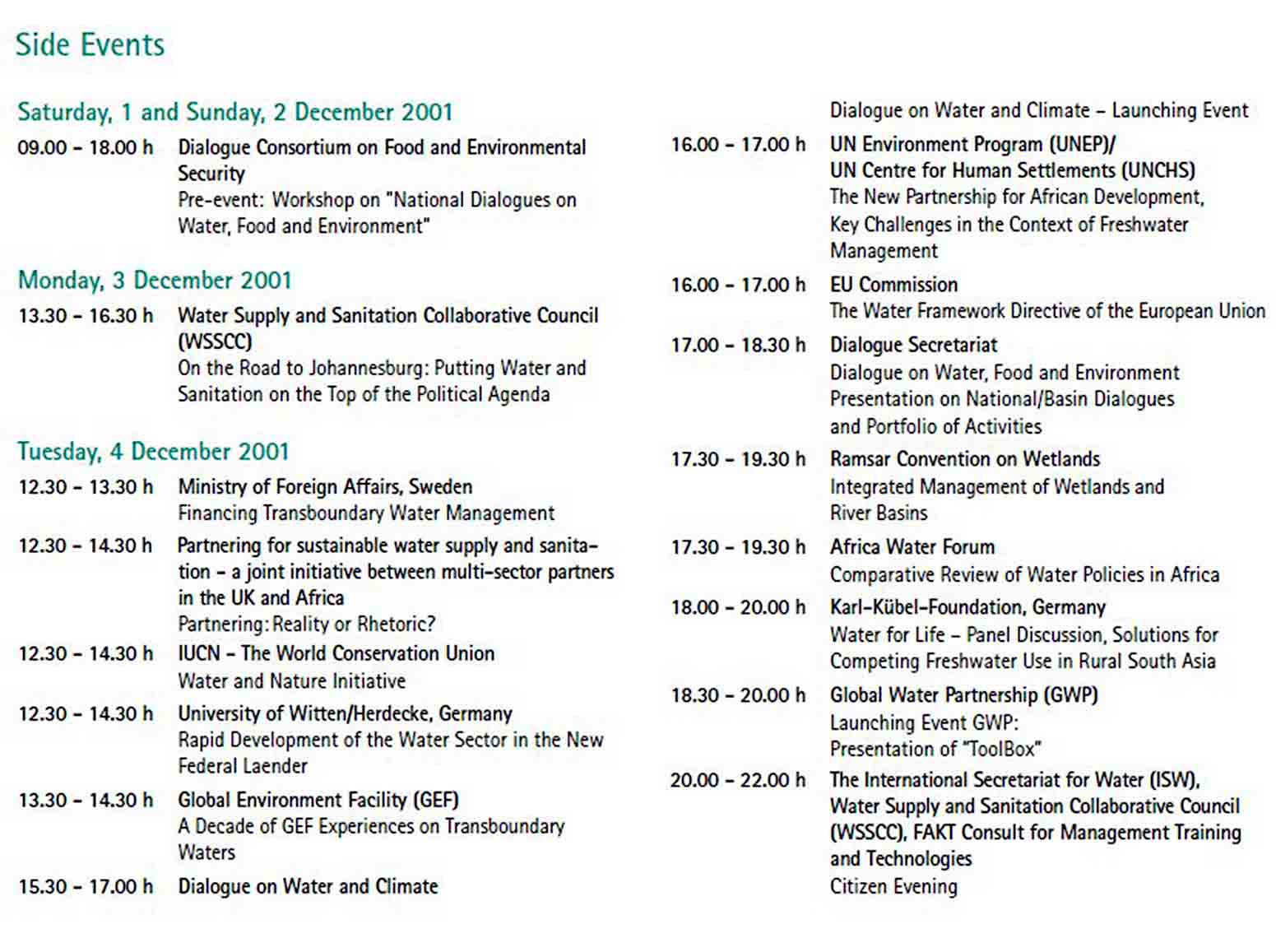 Conference Report Sample Template sample