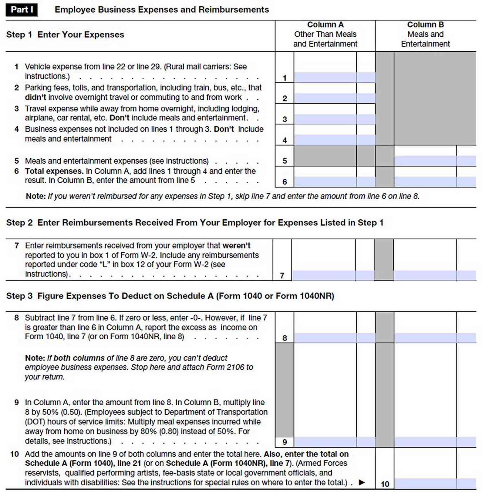 Annual Business Expense Report sample