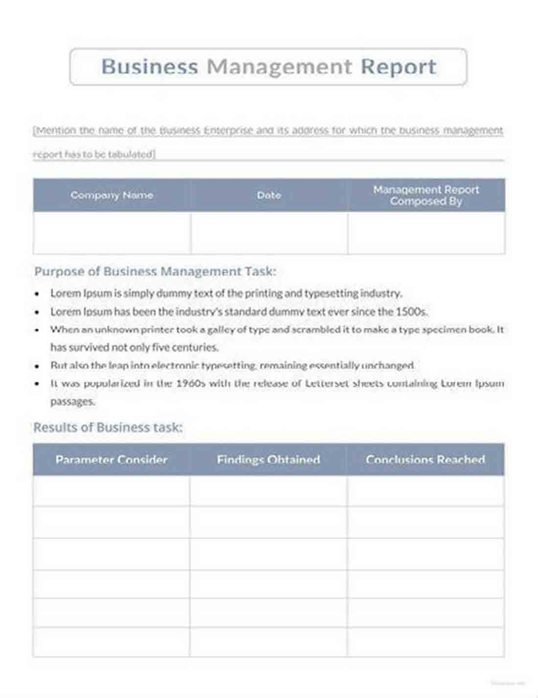 business management report 1 440x622 sample